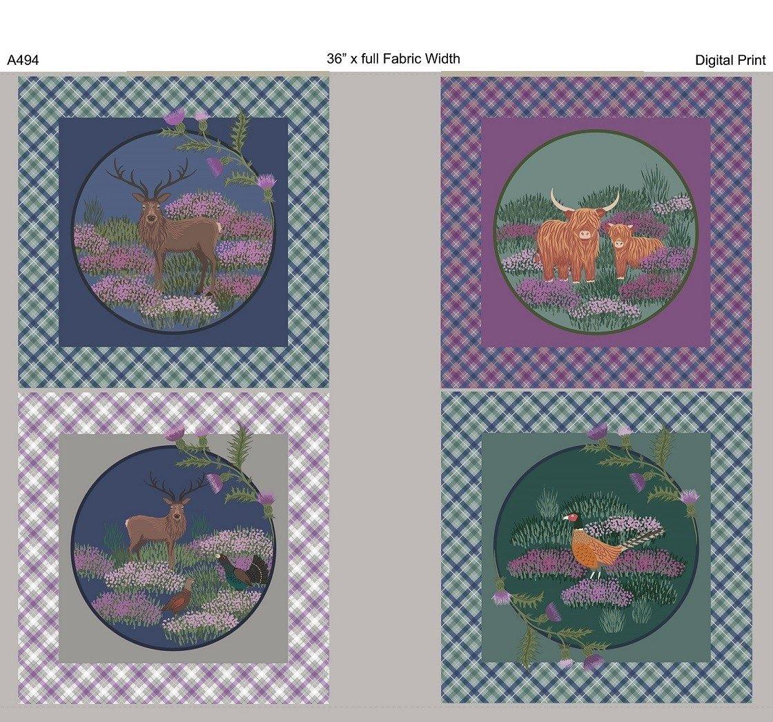 Iona Panel by Lewis & Irene 6494