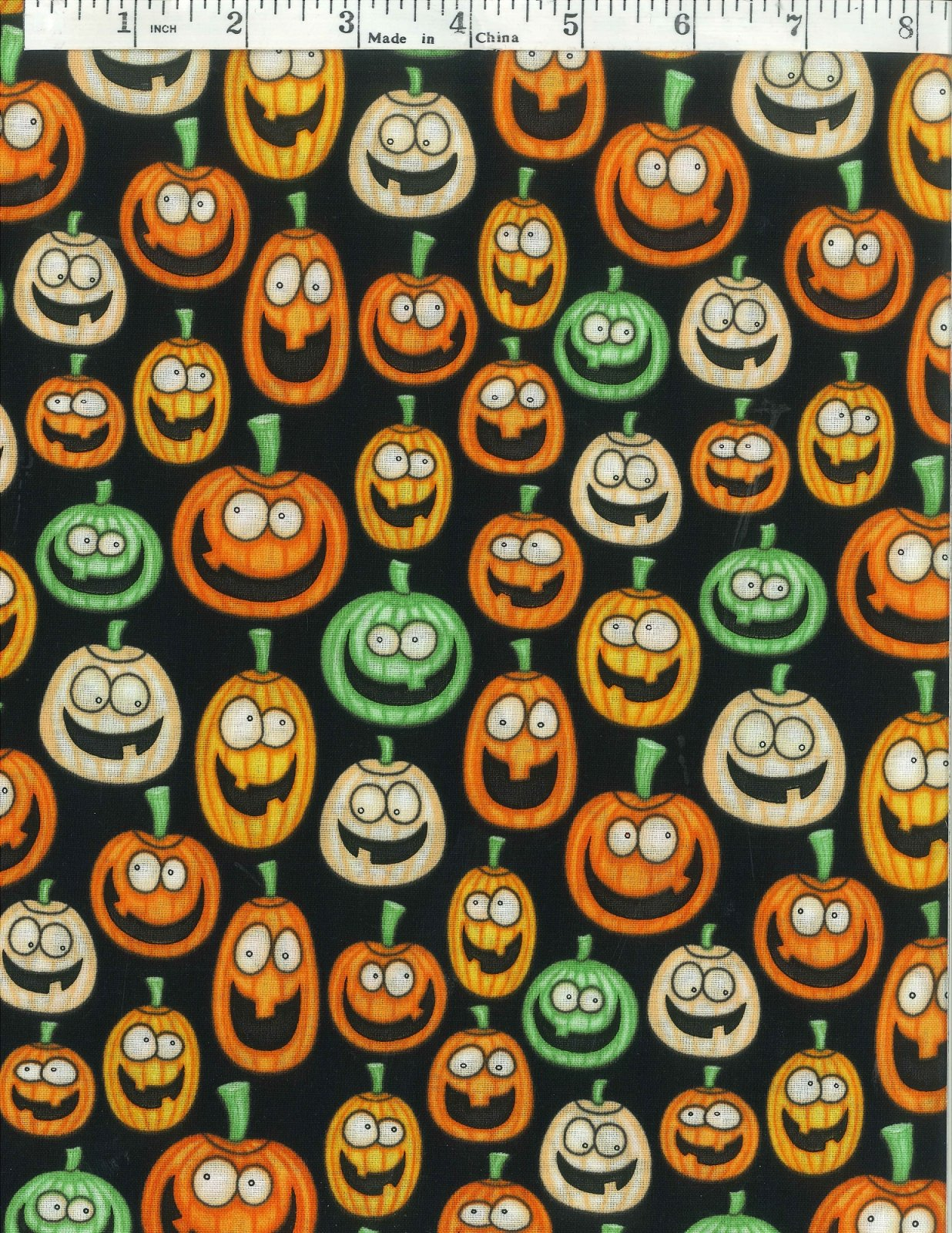 A Winter Sale Fabric - A Haunting We Will Go