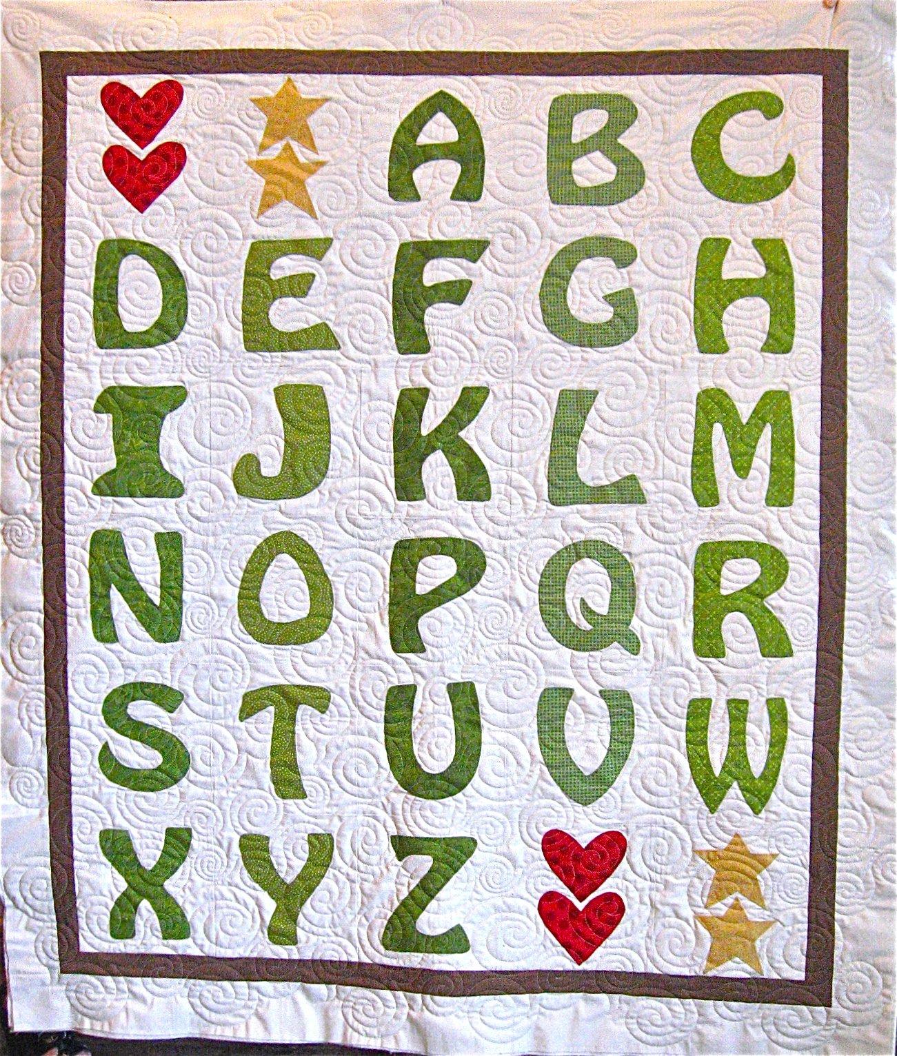 Pattern Sale - Alphabet Soup