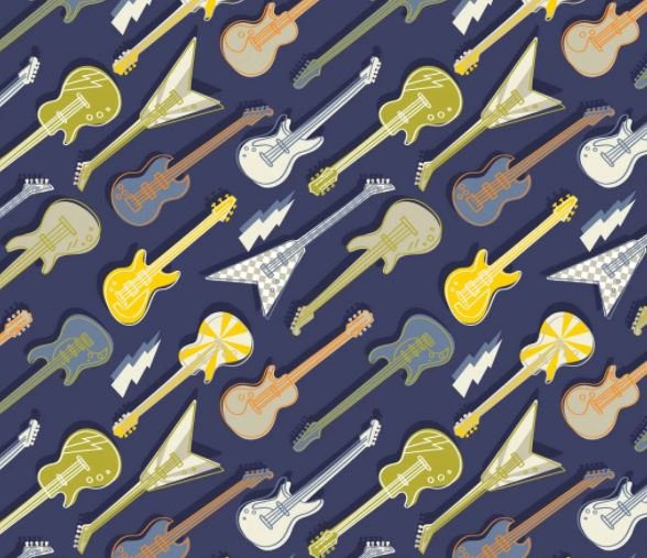 Amped Up Guitars 21200101 01 Navy