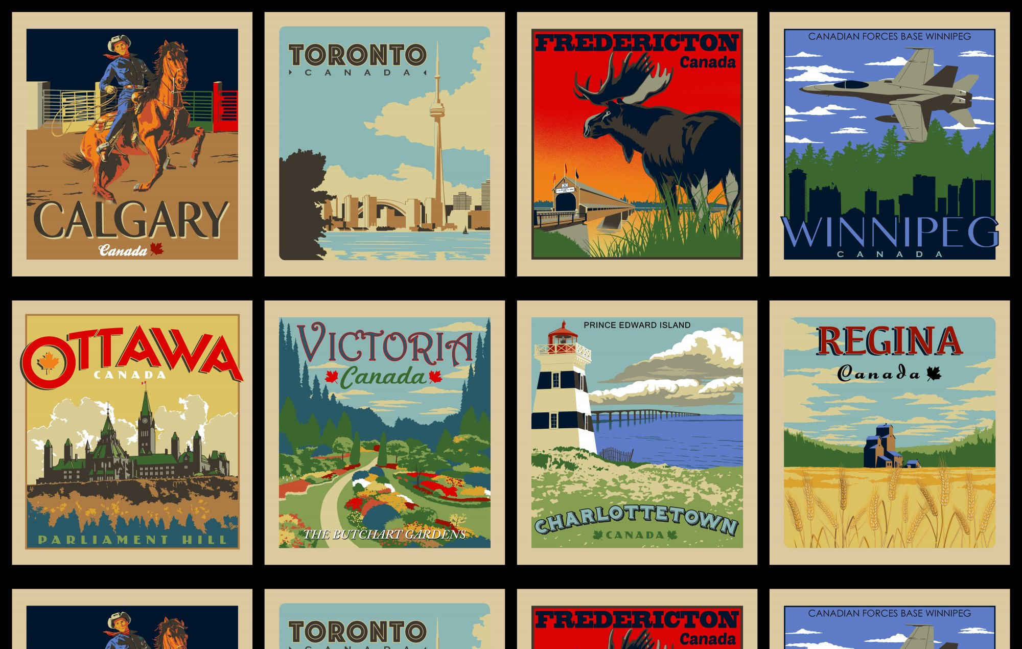 Discover Canada - Panel of Cities (2)