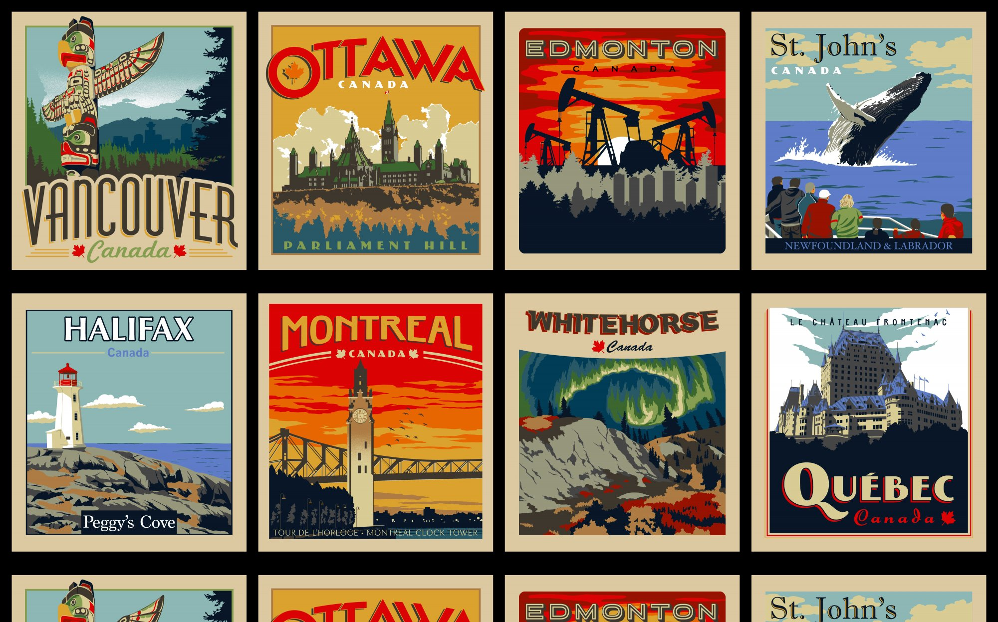 Discover Canada - Panel of Cities (1)