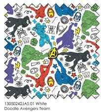 Marvel Avengers Team 13050242JAS 01 White