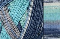 Bamboo Pop Sock #1792-501 Waves