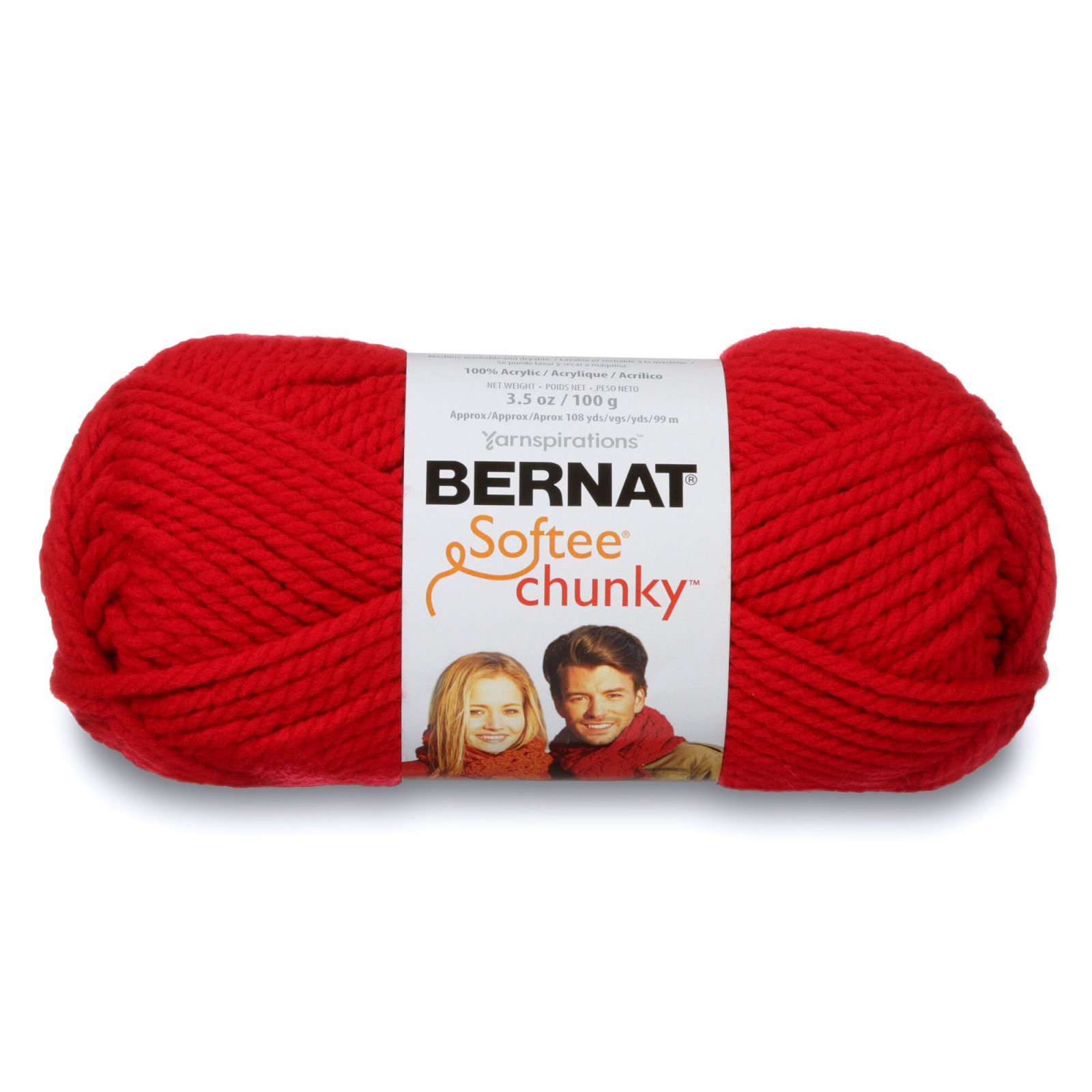 Softee Chunky 28705 Berry Red