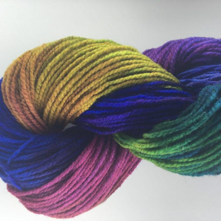 Softspun Hand Painted Yarn Bubble Gum by Briggs & Little