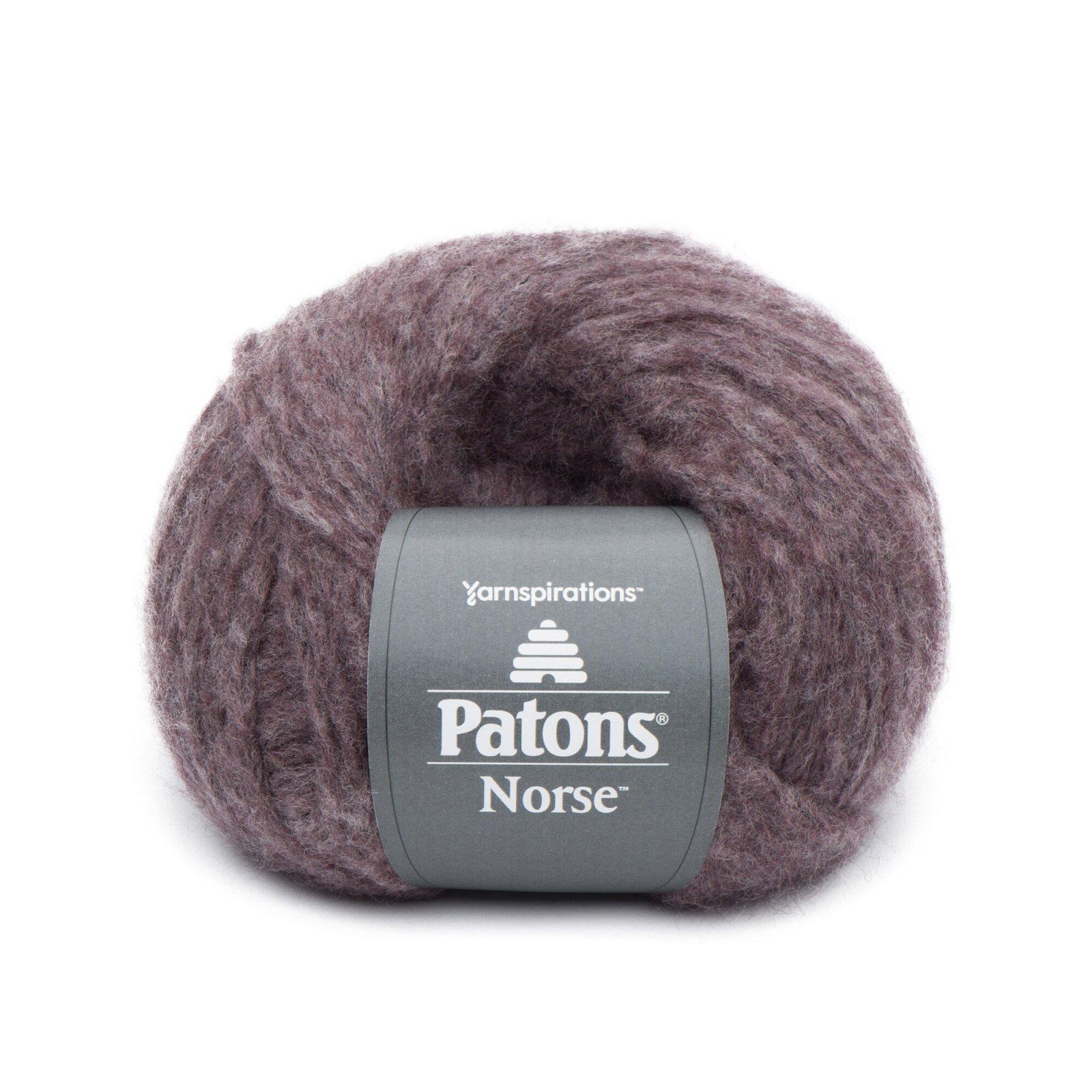 Patons Norse Yarn - Burgundy 91007