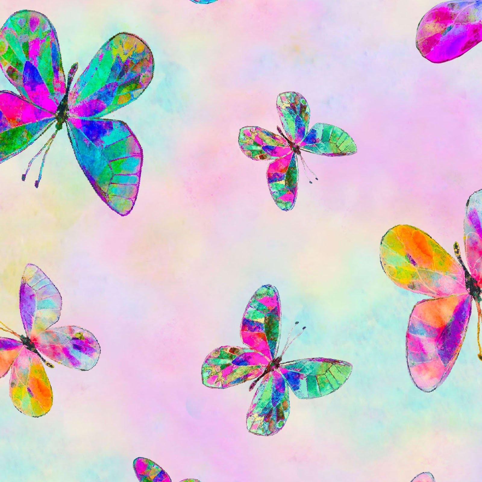 Butterfly Dreams Digital Print BUTD 4360 MU