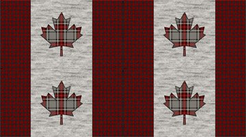 MY CANADA Placemat Panel C24006 92
