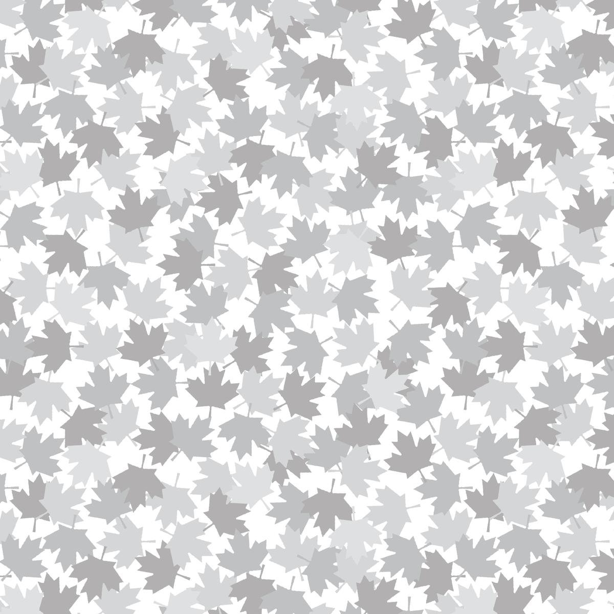 Canadian Maple Leaf 52238D 03 White