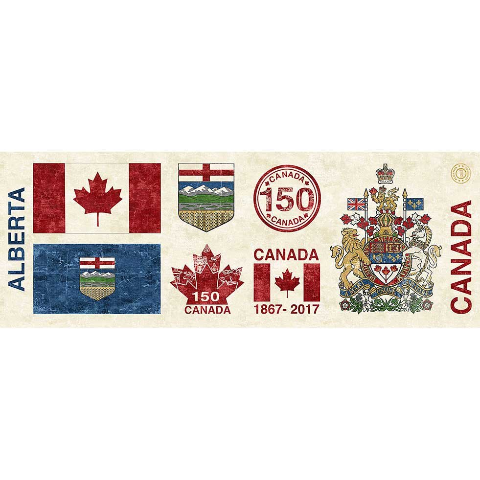 Canada 150 Years - Provincial Panel of Alberta