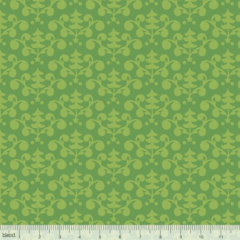 A Winter Sale Fabric -  Even a Mouse Green 101124022