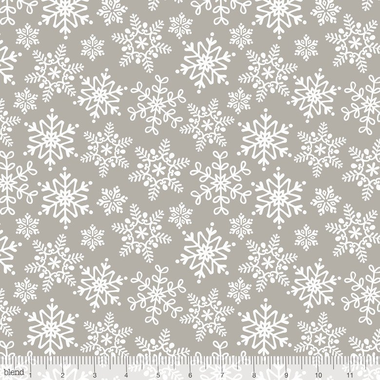 A Winter Sale Fabric -  Even a Mouse Grey 101124042