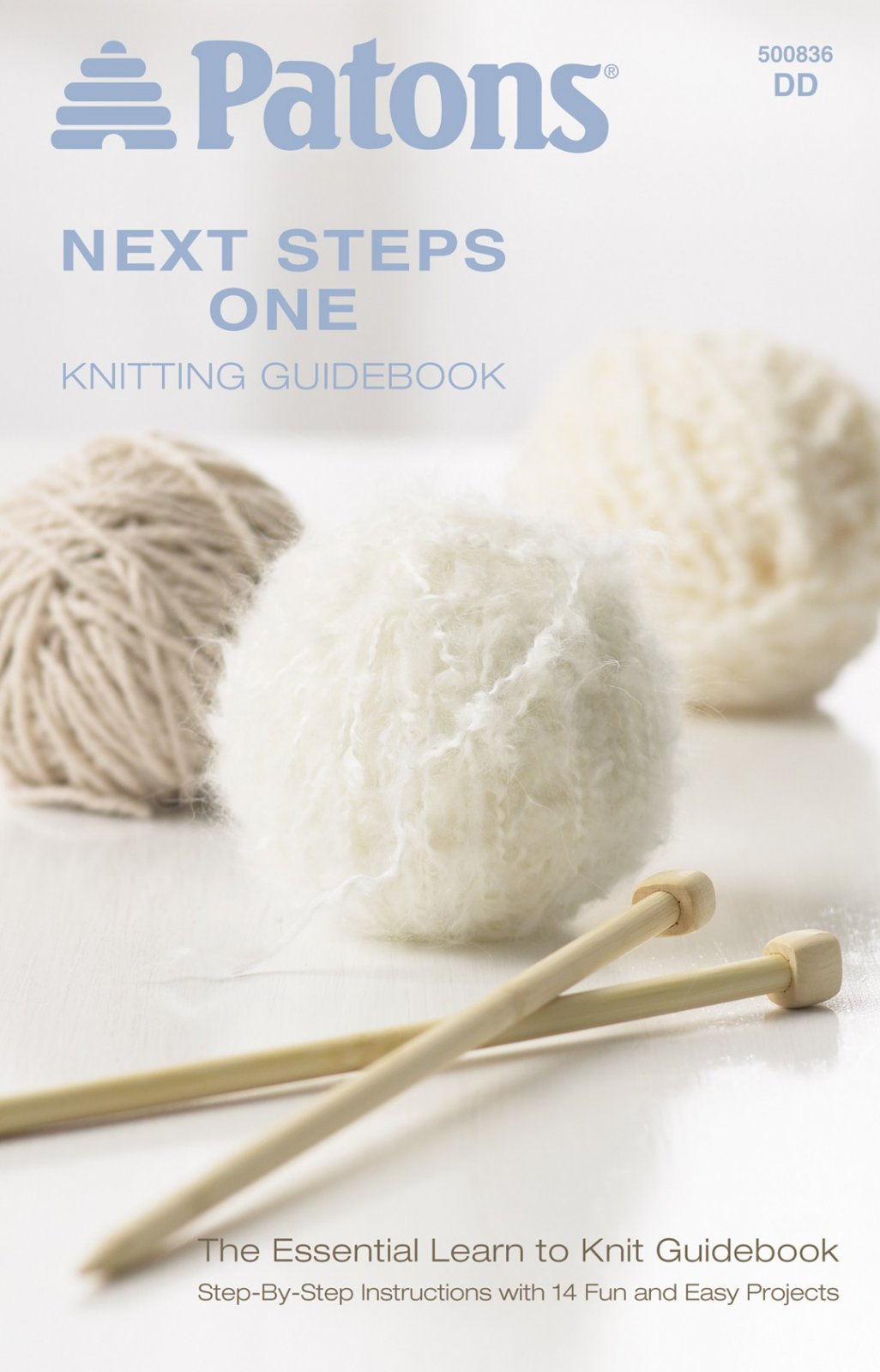 Knitting Guidebook - Patons Next Steps 1