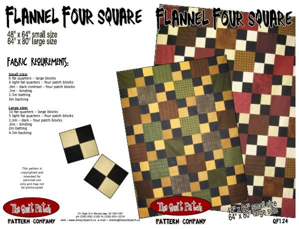 Flannel Four Square