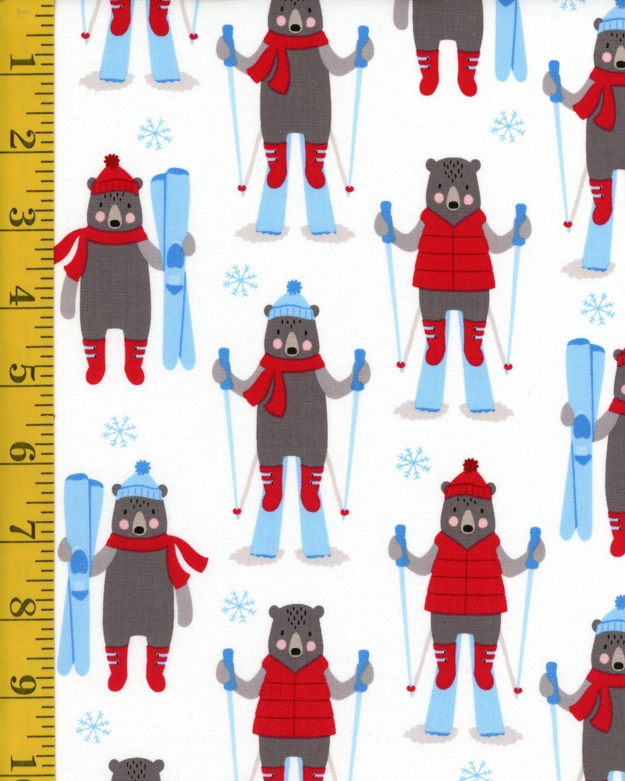 A Winter Sale Fabric - Frosty Friends 16656 87