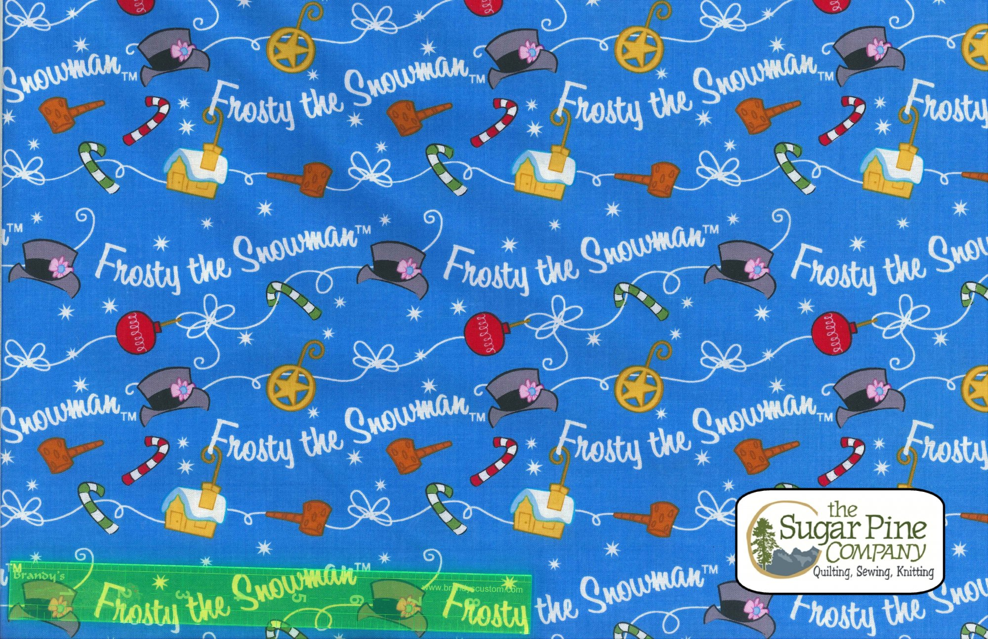 A Winter Sale Fabric - Frosty The Snowman
