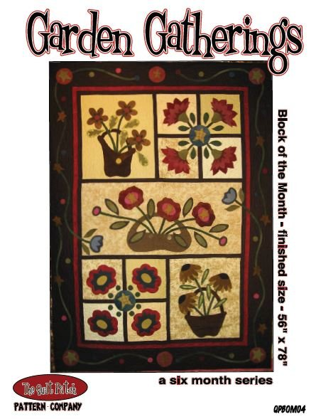 Block of the Month, GARDEN GATHERINGS