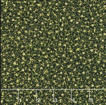 A Winter Sale Fabric - Gilded Greenery