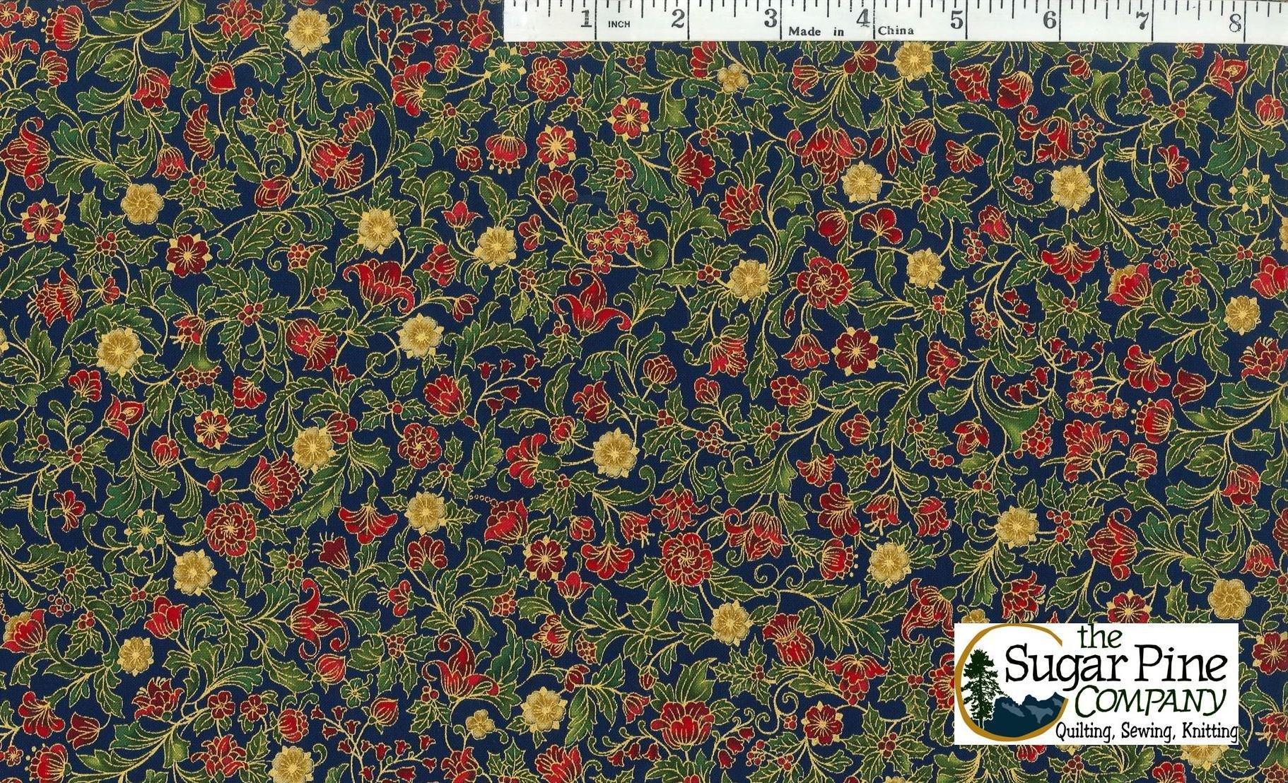 Christmas Sale Fabric - Holiday Flourish