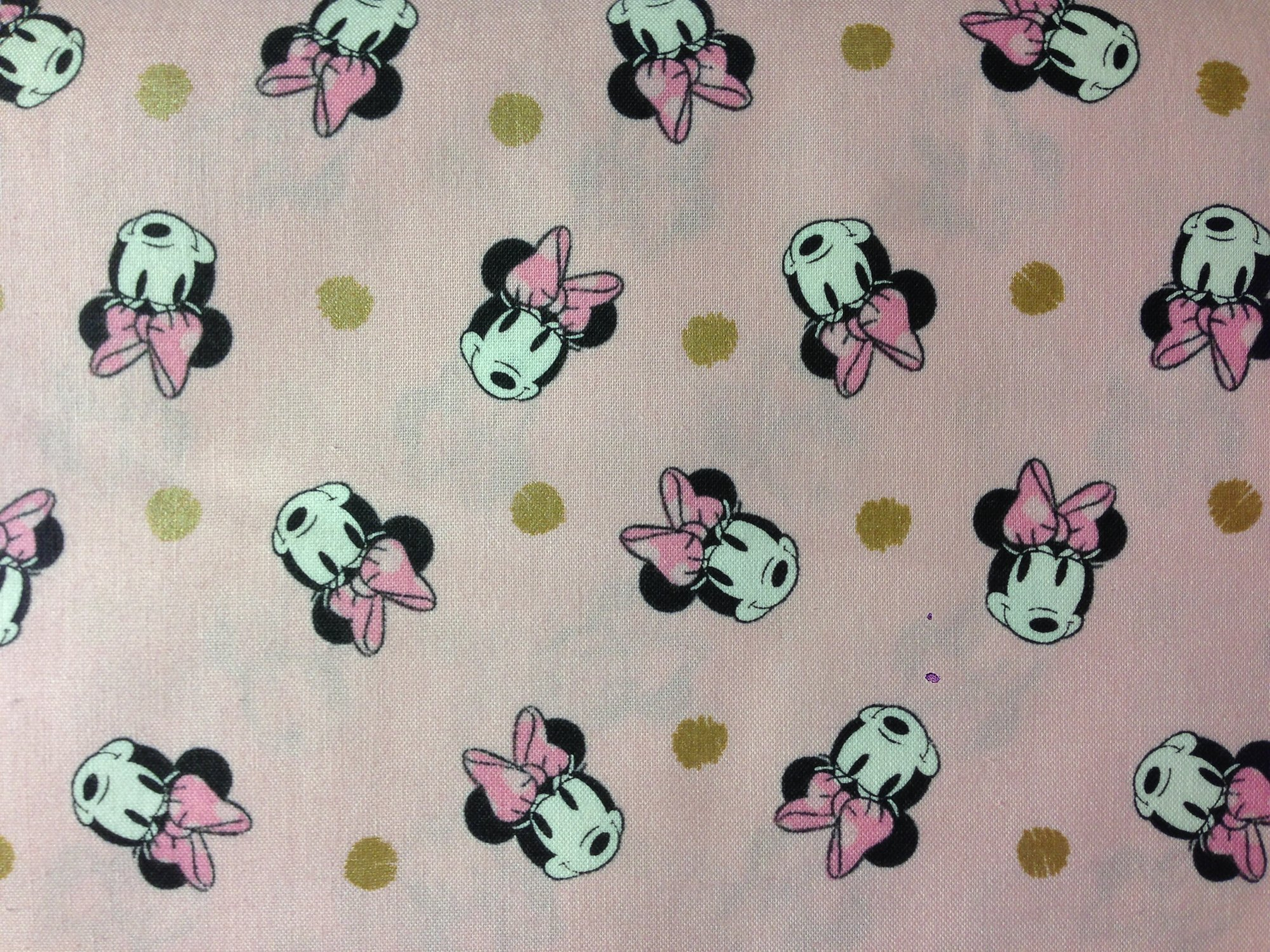 Disney - Minnie Faces and Metal Dots