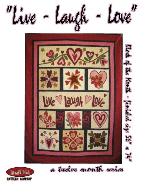 Block of the Month: LIVE LAUGH LOVE