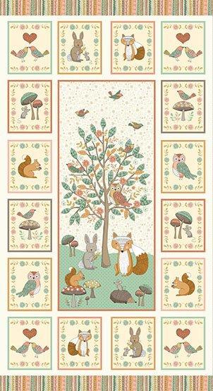 Doodle Days 1873 V Makower Fabrics Panel