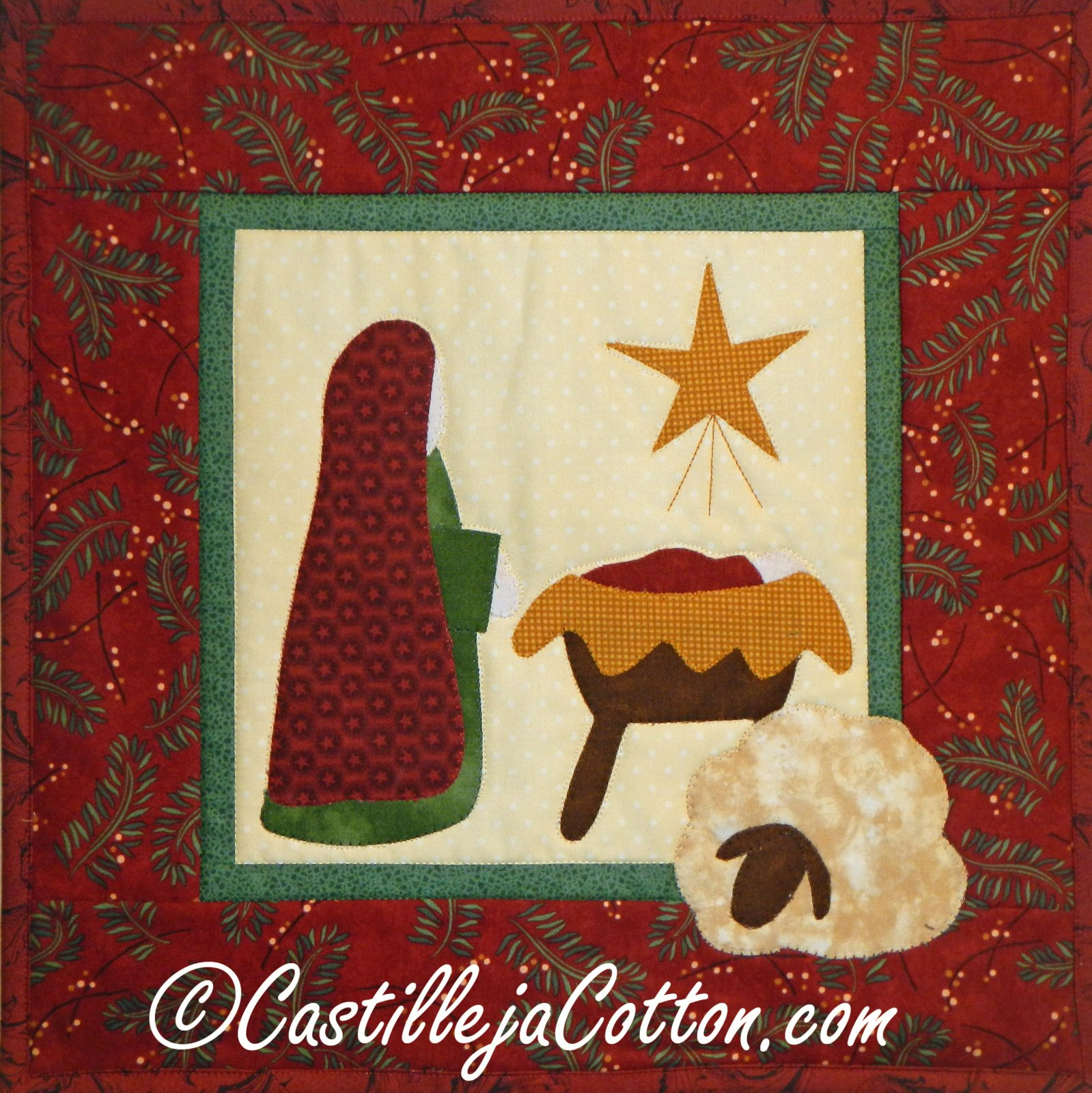 Christmas - Mary and Baby Jesus pattern