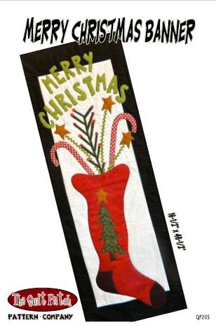 Christmas Sale Pattern: Merry Christmas Banner