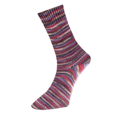 Comfort Wolle Sock Yarn MY301.07 Red/Blue