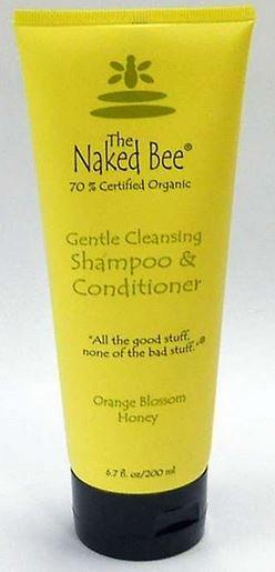 Naked Bee Shampoo & Conditioner 6.7oz/200ml