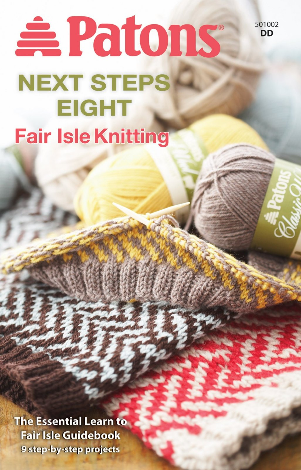 Fair Isle Knitting - Patons Next Steps 8