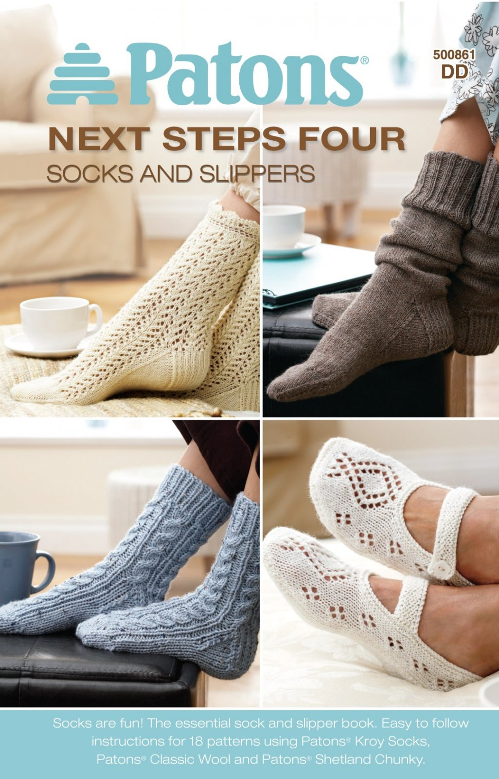 Socks and Slippers - Patons Next Steps 4