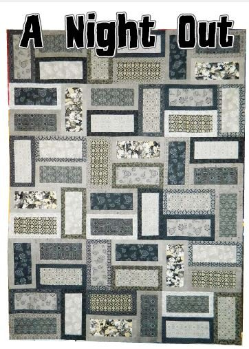 A Night Out Quilt Kit