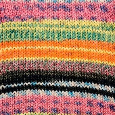 Alicante 13 Sock Yarn - Pink/Orange