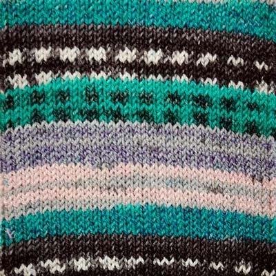 Alicante 13 Sock Yarn - Green/Gray