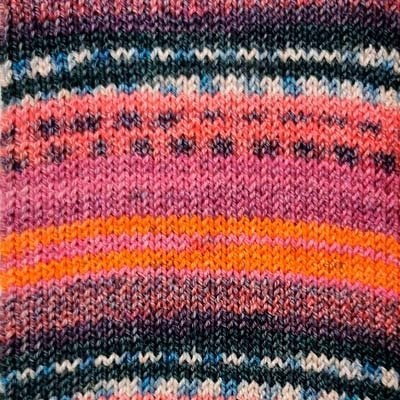 Alicante 13 Sock Yarn - Pink/Magenta
