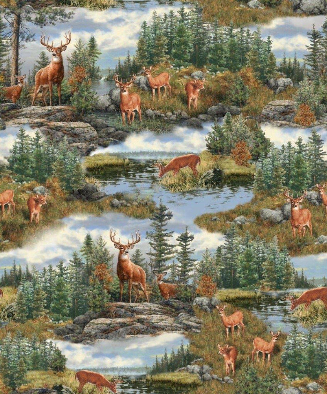 Deer Mountain Fabric 24791 G