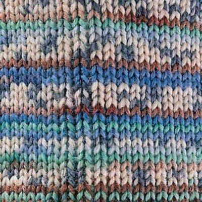 Superba Bamboo Sock Yarn 031 Blue Speck