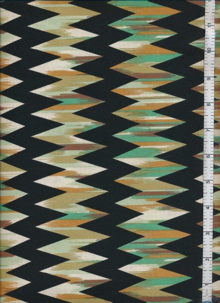 Fabric  Sale  -  Western Craft Print 4