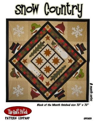 Block of the Month: Snow Country