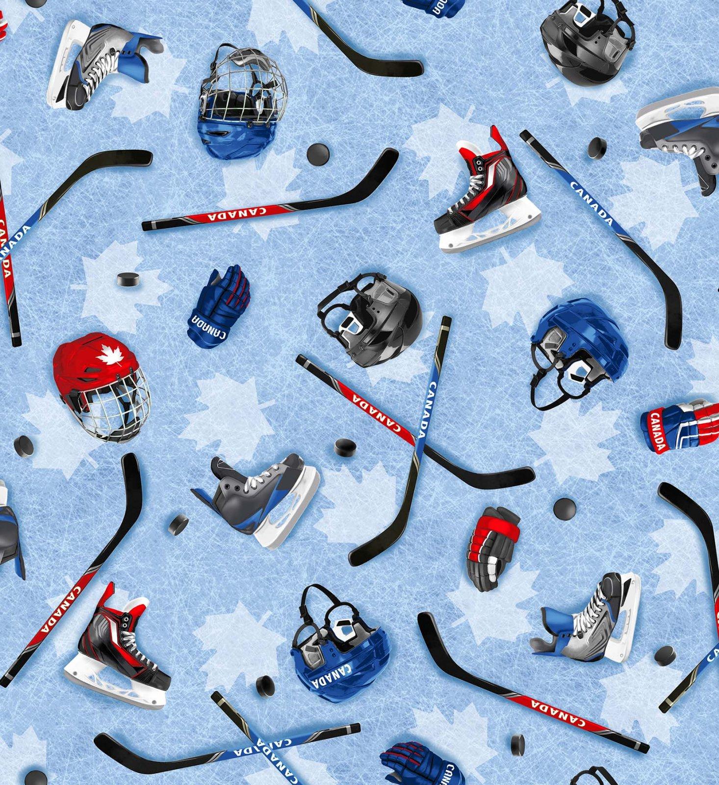 Canada's Game - Hockey Equipment