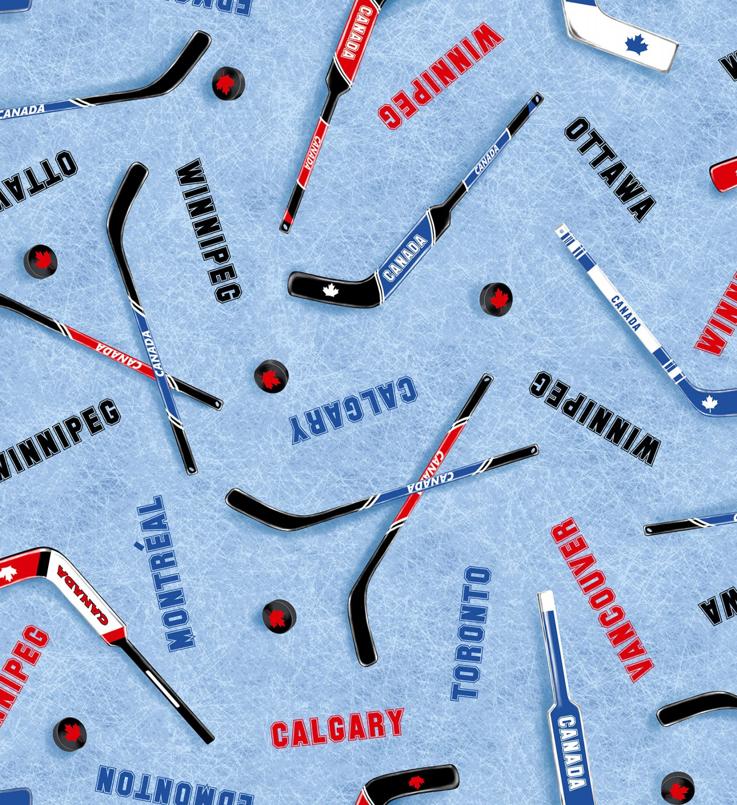 Canada's Game Hockey Fabric - Hockey Cities