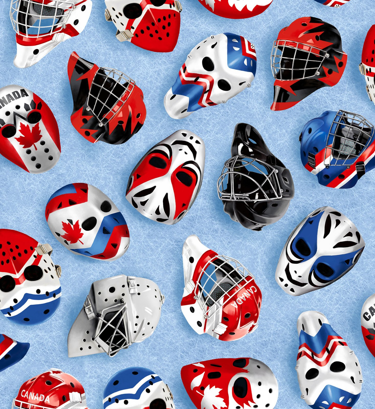 Canada's Game - Goalie Masks