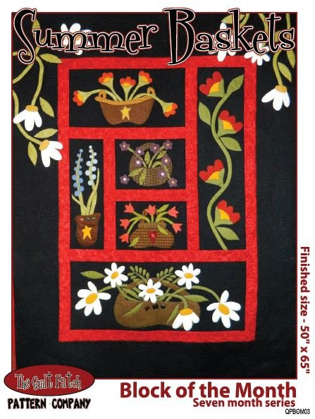 Block of the Month: Summer Baskets