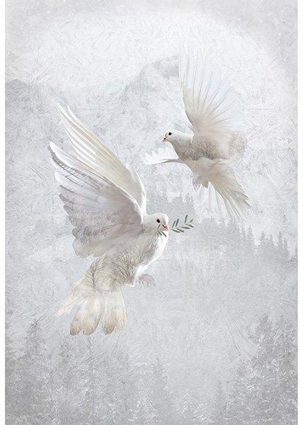 Call of the Wild Panel T4859-542-Dove
