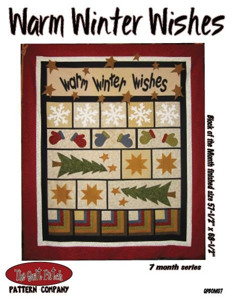 Block of the Month: Warm Winter Wishes