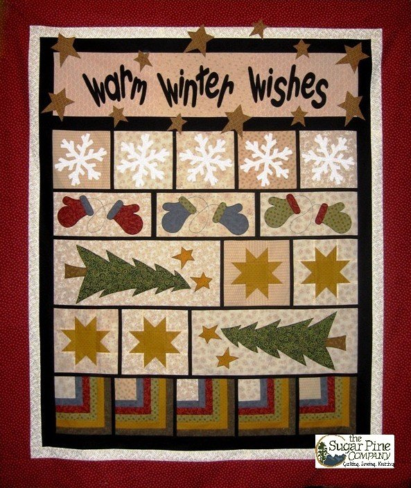Quilt Kit Sale - Warm Winter Wishes Kit