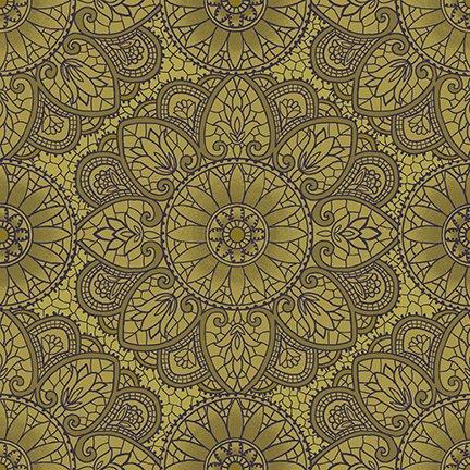 Sage & Sea Glass Mandala Green 1536-66