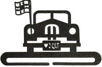 M&E Quilt Shoppe License Plate Holder